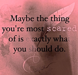 Scared quote